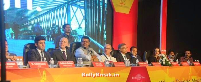 Srinivasan, Ashish Raheja, Chris Bubb, Devendra Fadnavis, Claudio Bellini, Niranjan Hiranandani, Parag Munot, Sussanne Khan, Photos from Inauguration of ACETECH 2014