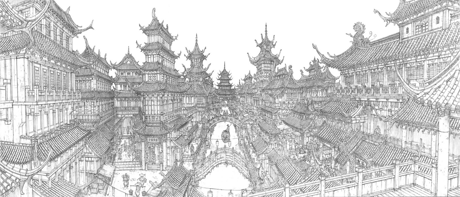02-Jung-Min-Seub-Architecture-in-Super-Detailed-Fantasy-Drawings-www-designstack-co