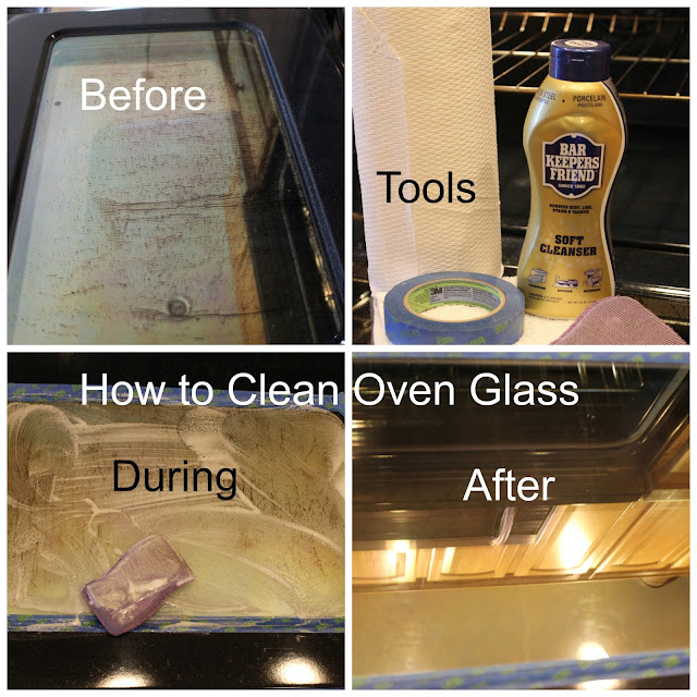 A complete how-to on how to easily clean your interior oven glass in 15 minutes.