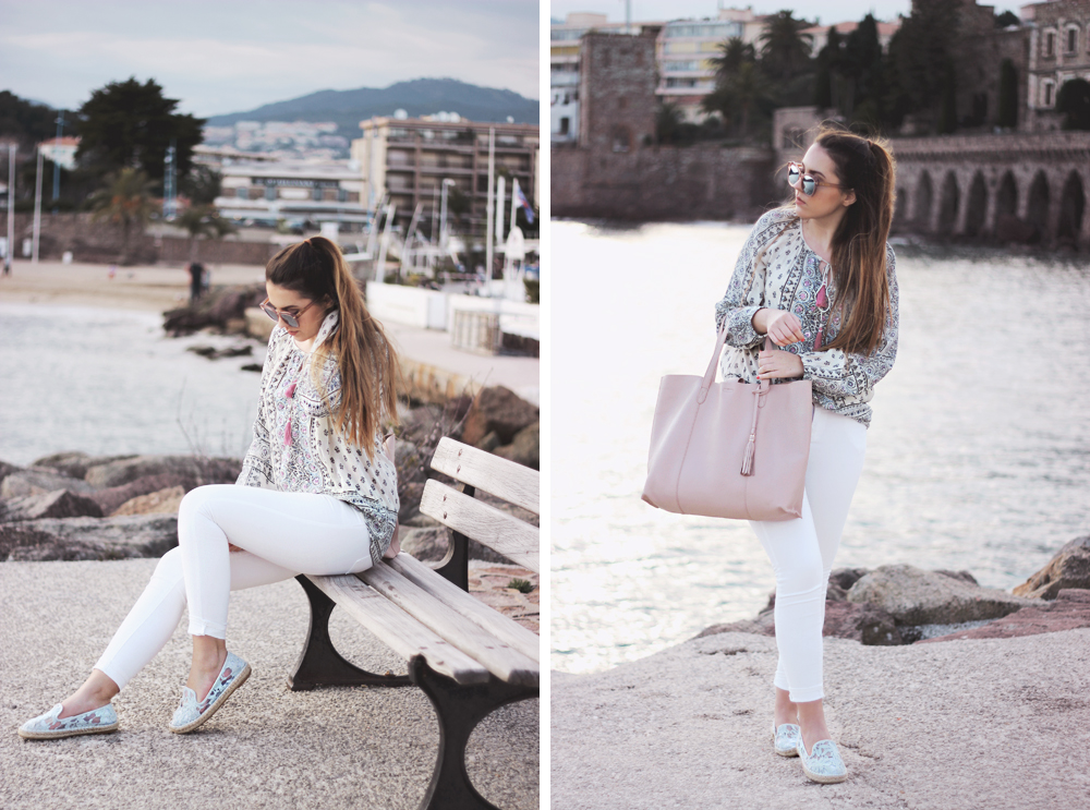 aimerose fashion style beauty blog how to wear white jeans