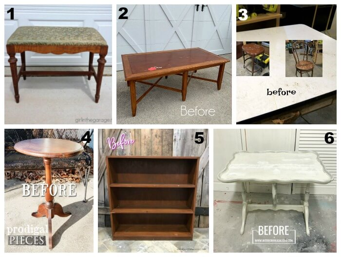 Furniture Fixer Uppers - February 2019