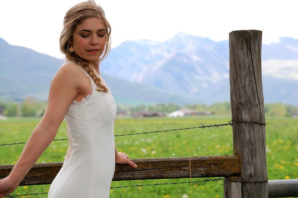 bridal portraits in utah