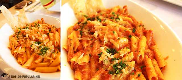 Great Crafting of Santorini Pasta by Red Garlic