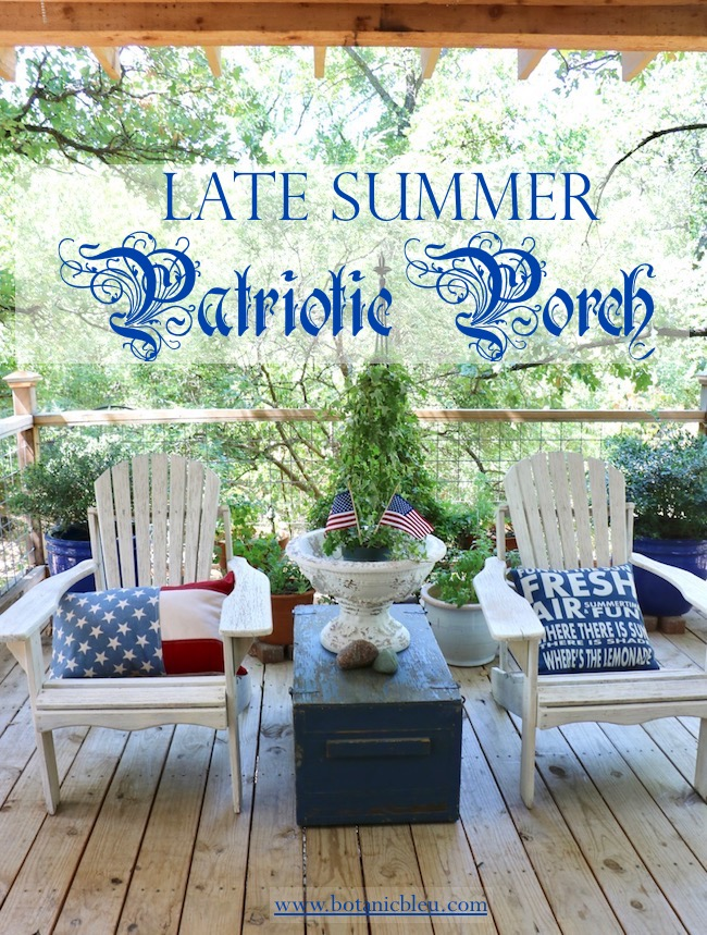 five late summer patriotic porch ideas