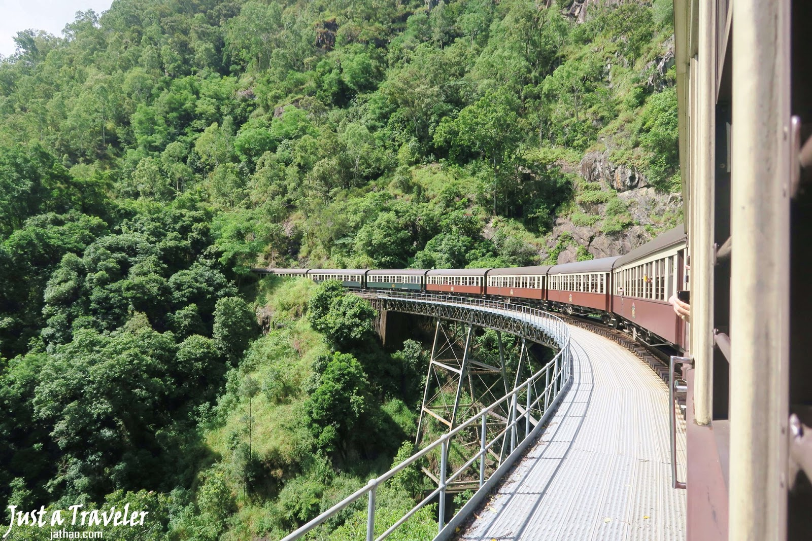 凱恩斯-景點-推薦-庫蘭達-火車-旅遊-自由行-澳洲-Cairns-Tourist-Attraction-Kuranda-Train-Travel-Australia