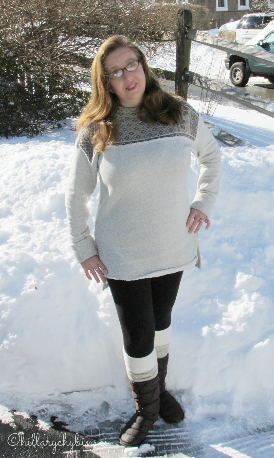 a5e75ab4cd2 Hillary Chybinski  Winter Weather - What I Wore