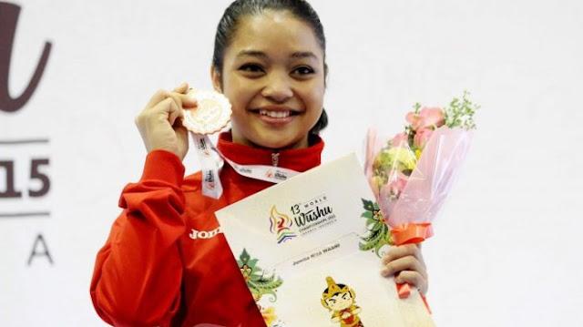 Profil Atlet Wushu Juwita Niza
