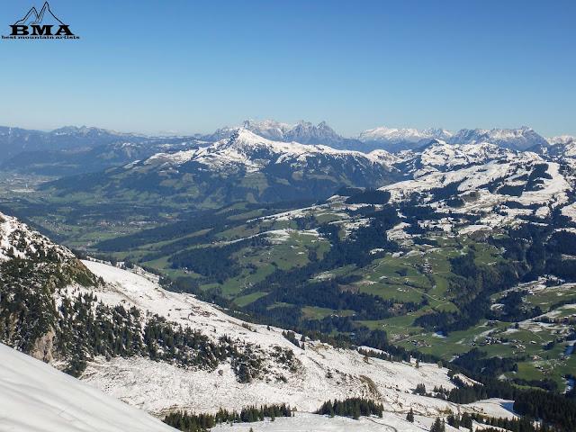 wanderung von kirchberg bei kitzbühel auf den Gampenkogel - reiseblog