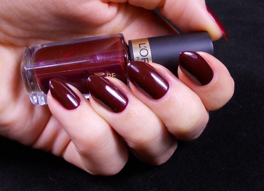 L\'Oréal Paris Collection Exclusive Laetitia\'s pure red nail polish ...