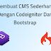 Gratis Aplikasi Cms Sederhana Dengan Menggunakan Codeigniter Dan Bootstrap