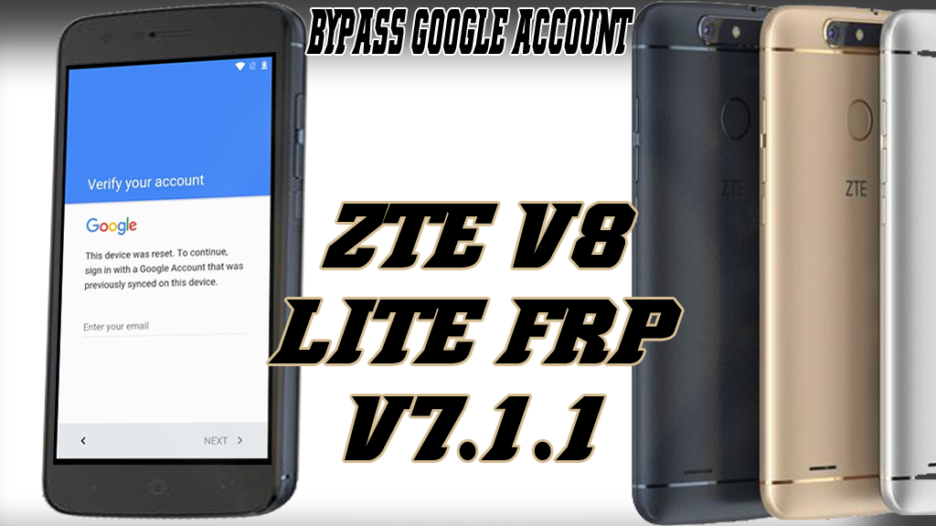 ZTE V8 LITE V8020 SKIP AND BYPASS GOOGLE ACCOUNT ANDROID 7 1
