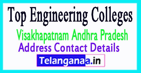 Top Engineering Colleges in Visakhapatnam District Andhra Pradesh