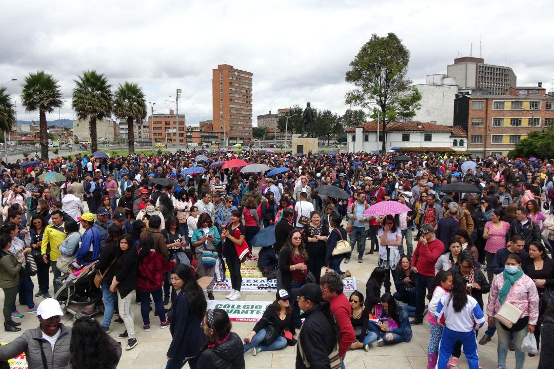 Asambleas y movilización por Circuitos Sur ¡No mas colegios en concesión!