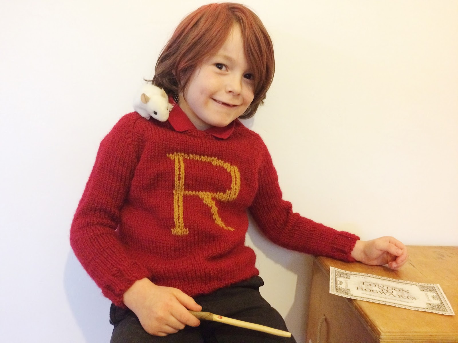 Knitting Pattern For Weasley Sweater : Vicki Brown Designs: World Book Day :: and the tale of the ...
