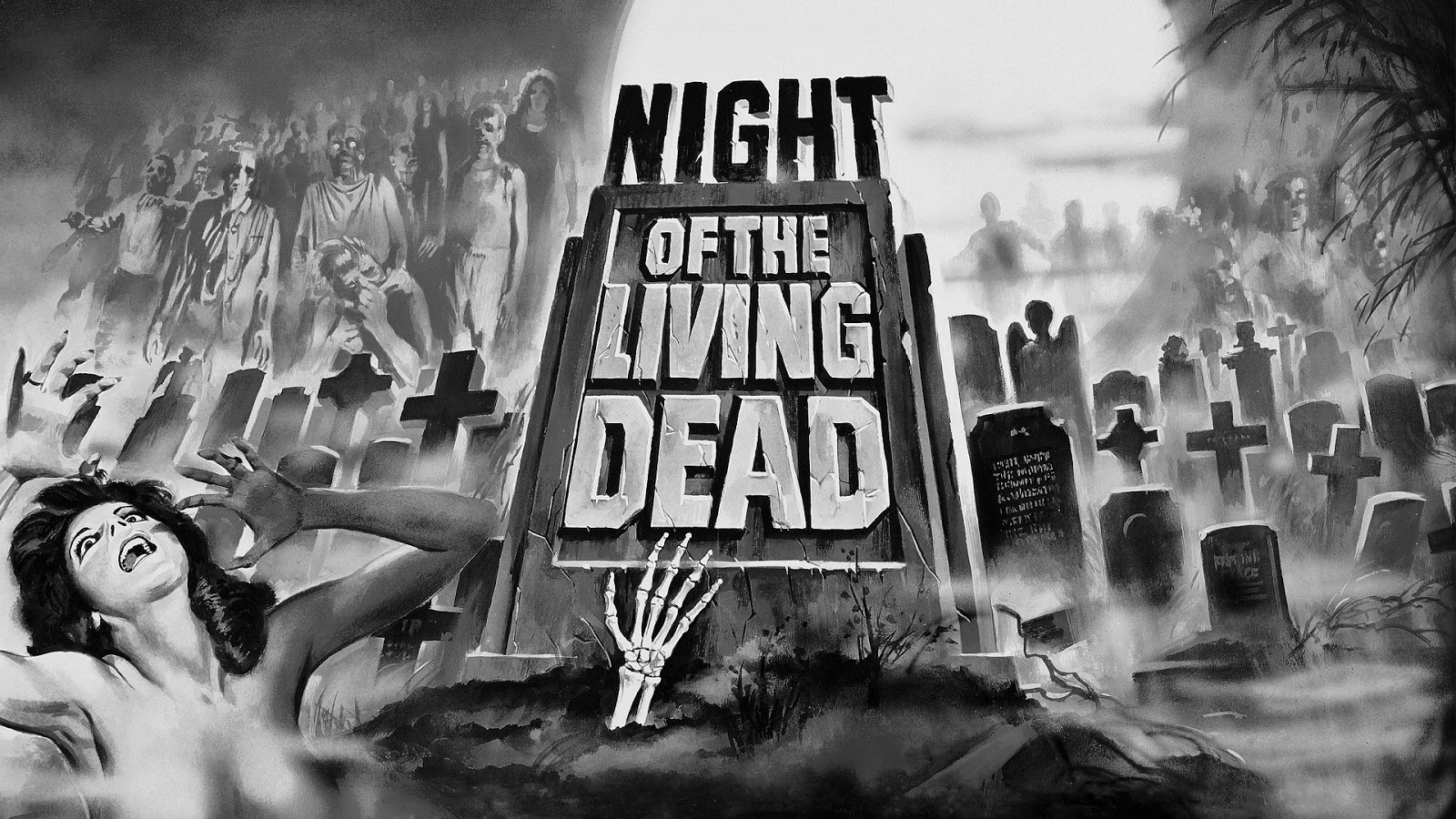 Neato Coolville Halloween Wallpaper Night Of The Living Dead