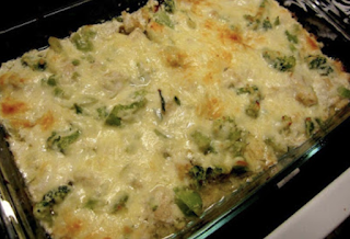 Chicken and Broccoli Cheesy Casserole - Low Carb Recipe