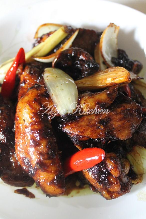 Ayam Masak Kicap Paling Simple Azie Kitchen