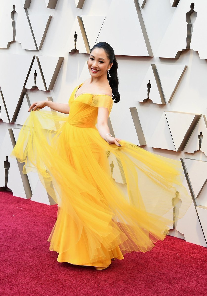 Constance Wu – Oscars 2019 Red Carpet