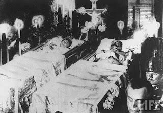 Francisco Fernando entierro