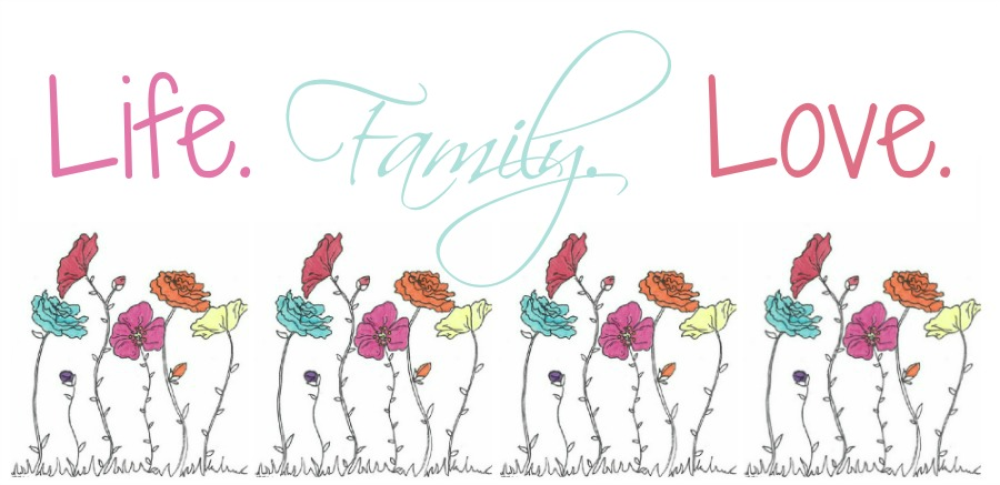 Family Where Life Begins and Love Never Ends Wall Vinyl  |Family Love Life