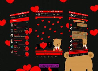 Temas GBWhatsApp - Red Bear - TEMAS GB