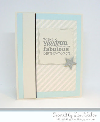 The Most Fabulous Birthday Ever card-designed by Lori Tecler/Inking Aloud-stamps from Verve Stamps
