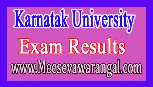 Karnatak University Ph.D Entrance Test Marks Dec 2016 Results