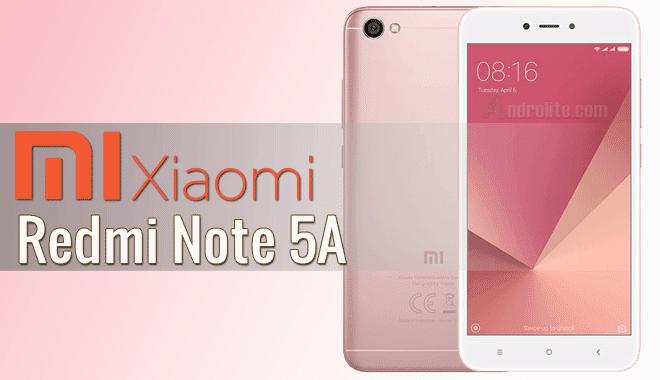 Spesifikasi Full dan Daftar Harga Terbaru Ponsel Xiaomi Redmi Note 5A