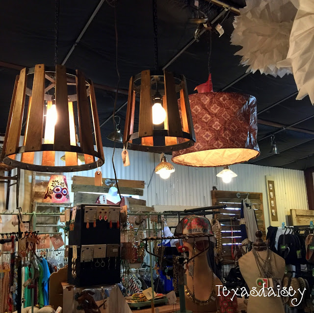 You have got to see this cool store filled with light fixtures...Ballyhoo