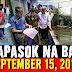 KAKAPASOK NA BALITA SEPTEMBER 15, 2018 | PRES. DUTERTE | OMPONGPH UPDATE | PAGASA