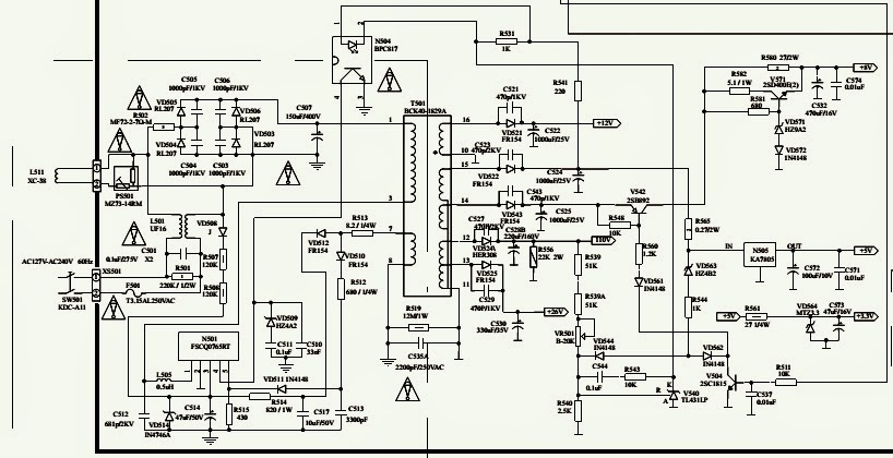 philips schematic diagram
