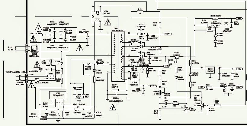 philips schematic diagram