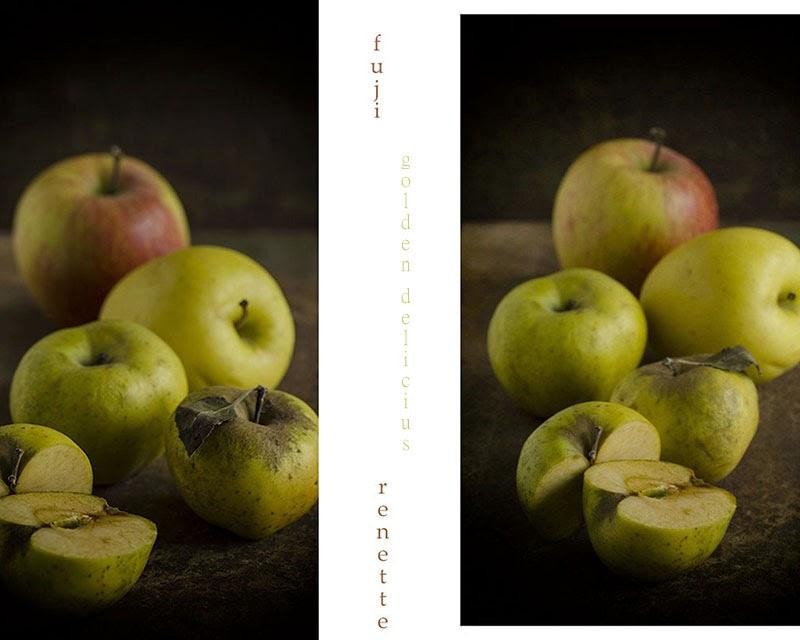 I tre tipi di mela