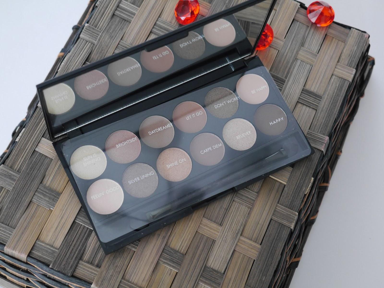 Sleek, eyeshadow, makeup, eyeshadow palettes, drugstore