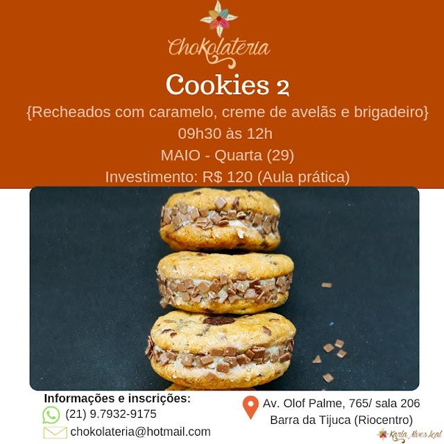 Curso de Cookies 2 - Chokolateria Maio 2019