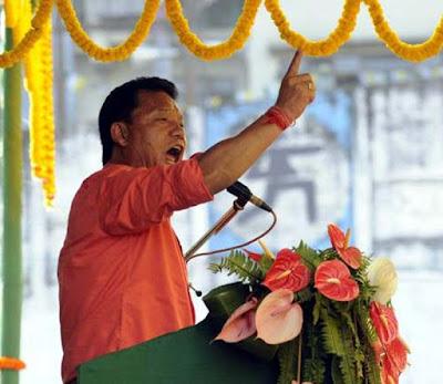 Angry Bimal Gurung