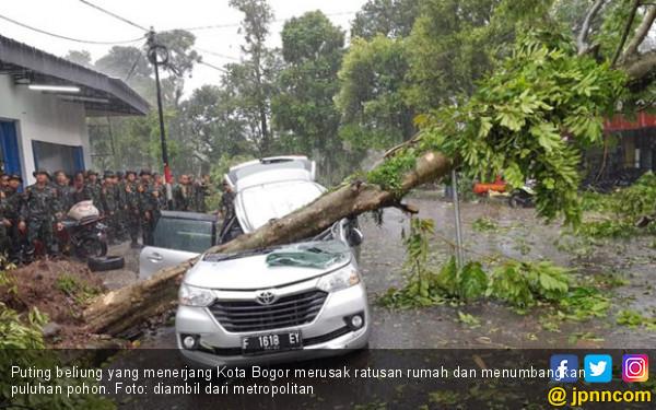 Puting Beliung Bogor: Bu Enny Meninggal dalam Keadaan Puasa