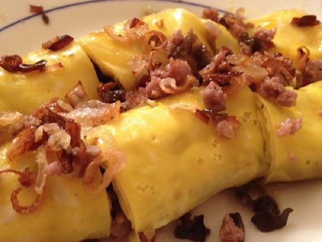 Visit Ha Giang province taste eggs rolls 2