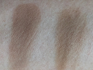Too Faced Chocolate Soleil Bronzer vs. Rival De Loop Young Chocolate Bronzing Powder