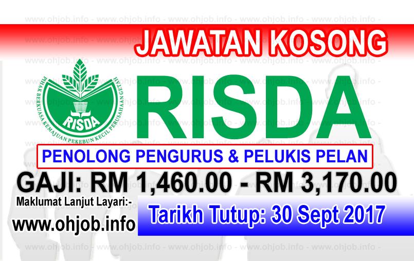 Jawatan Kerja Kosong RISDA Estates Sdn Bhd logo www.ohjob.info september 2017