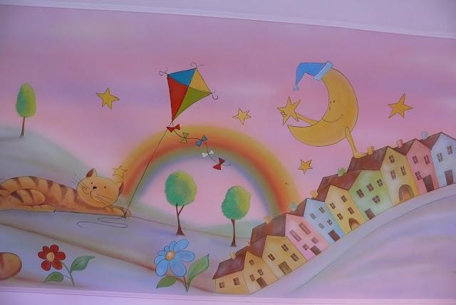 Pokój nastolatki, malowanie pokoju dziecięcego, Gdańsk