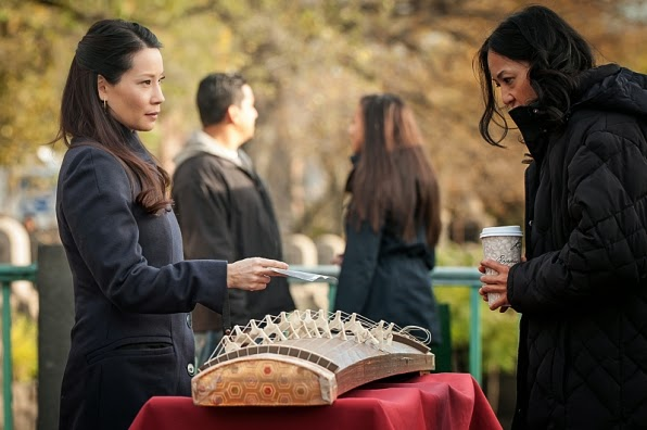 Lucy Liu Joan Watson Elementary Season 3 Episode 9 The Eternity Injection