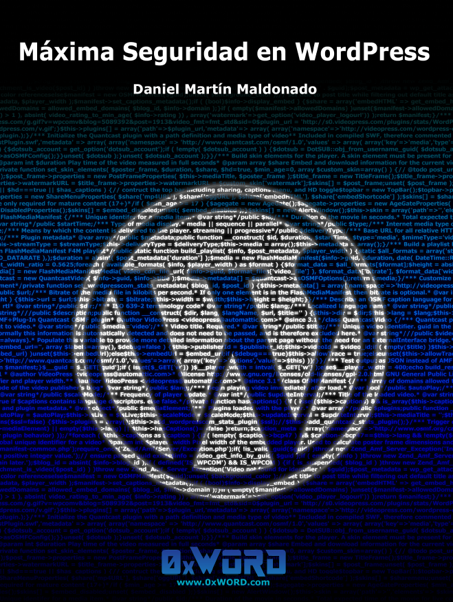 Maxima Seguridad en WordPress