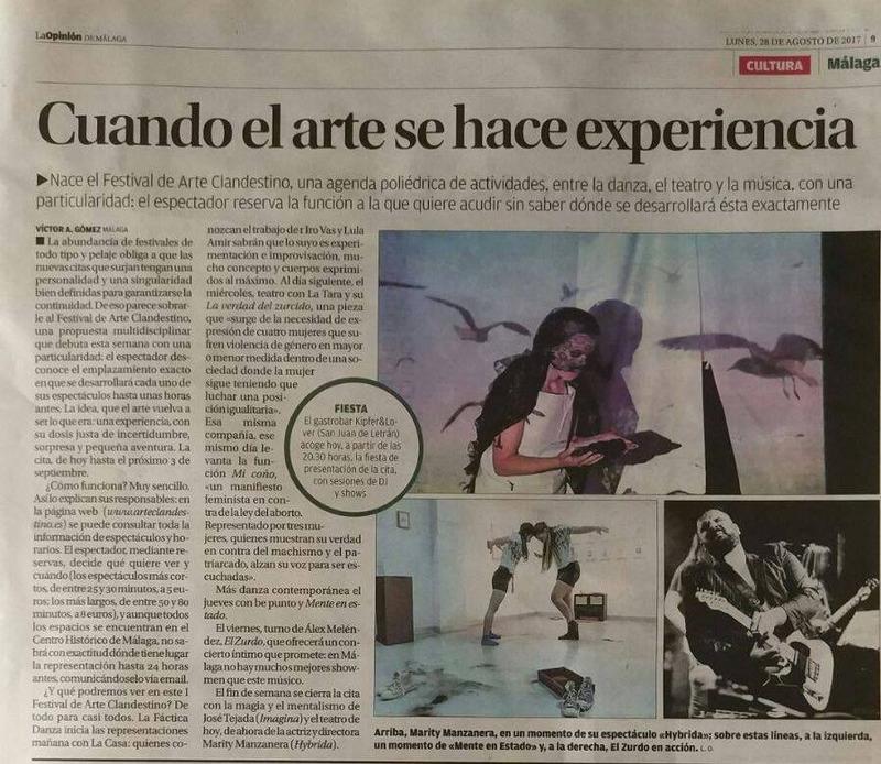 I Festival de Arte Clandestino de Málaga