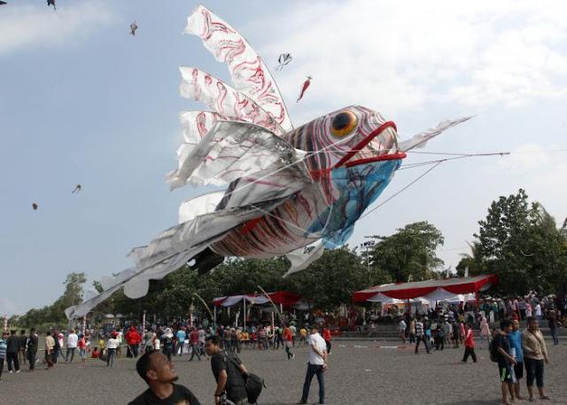 Festival layang-layang Banyuwangi 2016.
