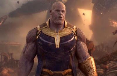 tony vs thanos infinity war