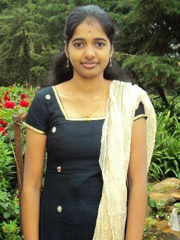young and cute indian girl