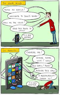 Bikin Sadar , 10 Gambar Sindiran Bagi Para Penggila Smartphone