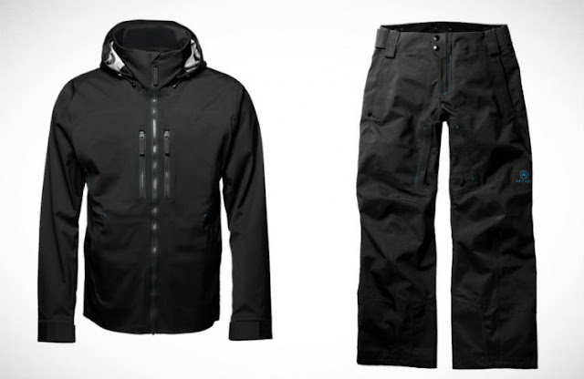 snowboard pants and jacket