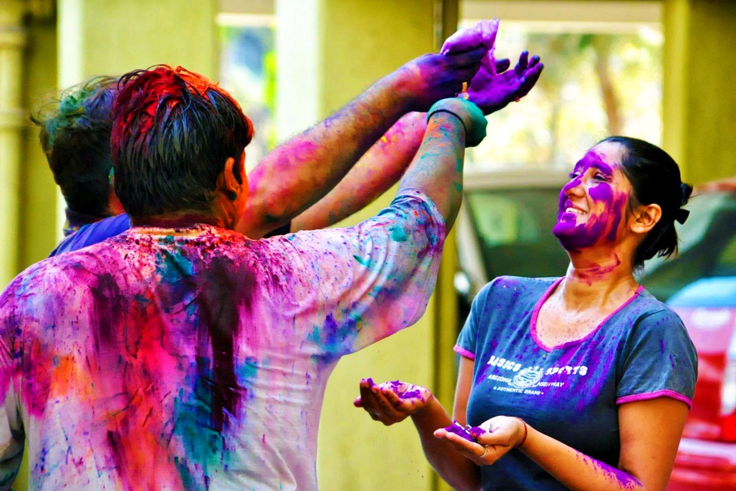 Holi Greetings Wallpaper Delhi Images